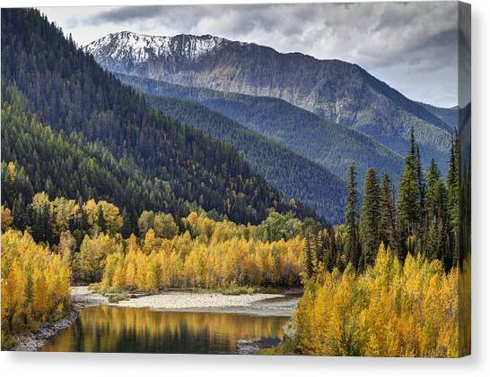 Middle Fork Brillance  Canvas Print