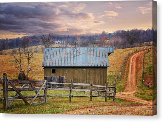 Middleburg Virginia Countryside Canvas Print