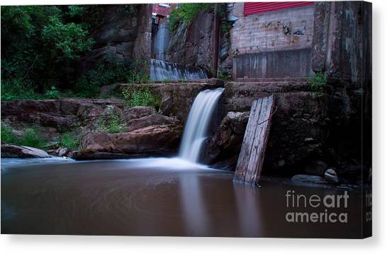Middlebury Falls. Canvas Print