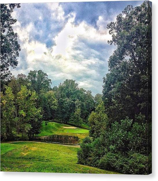 Golf Canvas Print - Middletown Country Club by Ross Shaffer