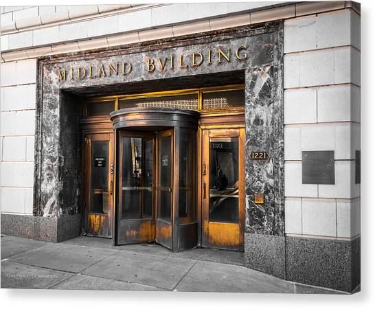 Midland Building Canvas Print