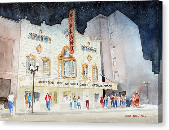 Midland Theatre Canvas Print