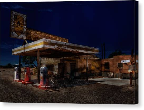 Midnight At The Oasis. Canvas Print
