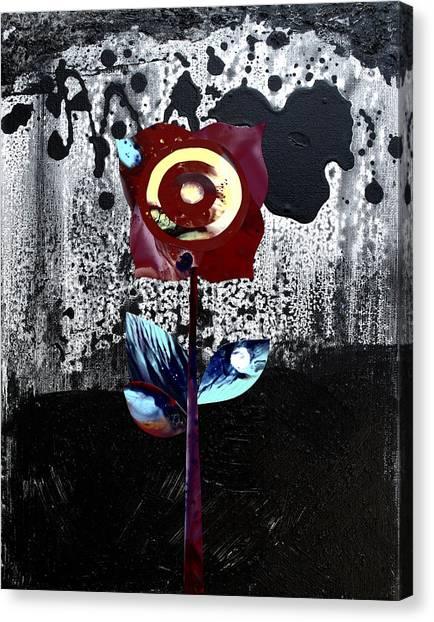 Midnight Beauty Canvas Print