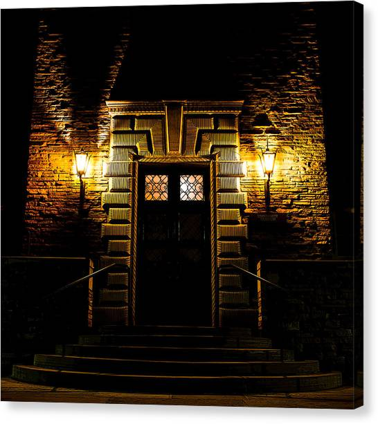 Cu Boulder Poster Canvas Print - Midnight Entryway by Rhys Arithson