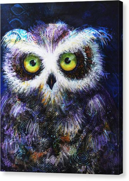 Midnight Hoot Canvas Print