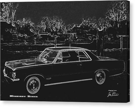 Midnight Rider Canvas Print