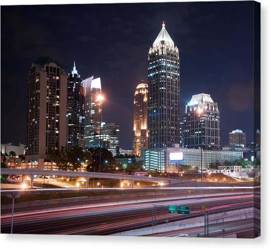 Midtown Atlanta Canvas Print