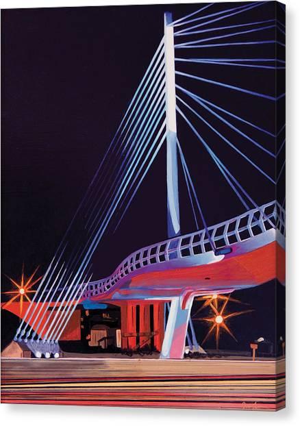Midtown Greenway Sabo Bridge Canvas Print