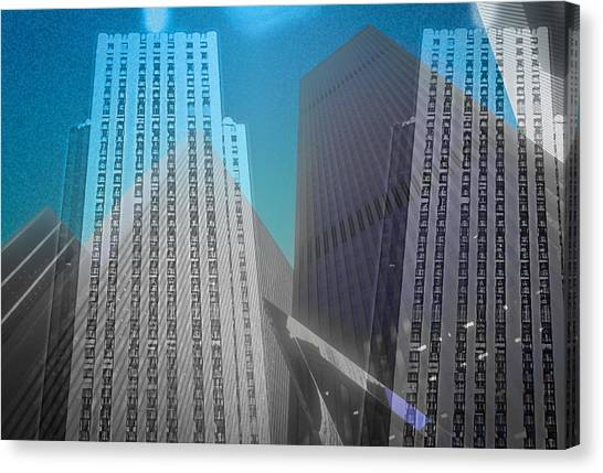 Midtown Sections Canvas Print