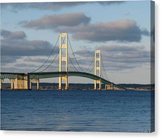 Mighty Mac In December Canvas Print