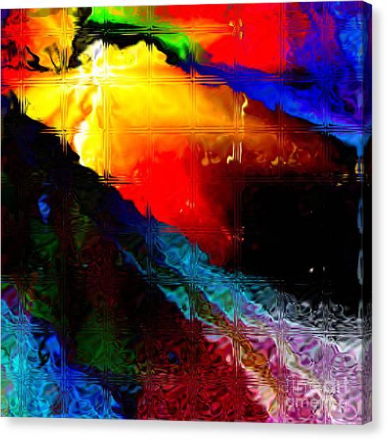 Migraine Glass Blocks Canvas Print