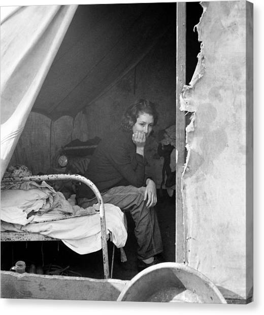 Migrant Worker, 1936 Canvas Print by Granger