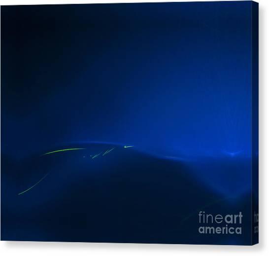 Migration Across The Blue Canvas Print