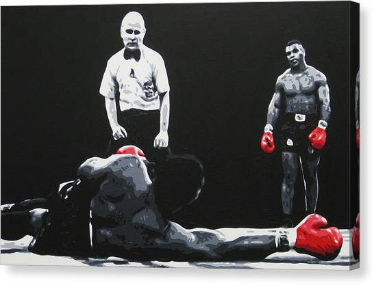 Mike Tyson Canvas Print - Mike Tyson 3 by Geo Thomson