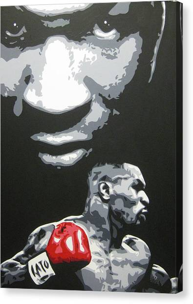 Mike Tyson Canvas Print - Mike Tyson 4 by Geo Thomson