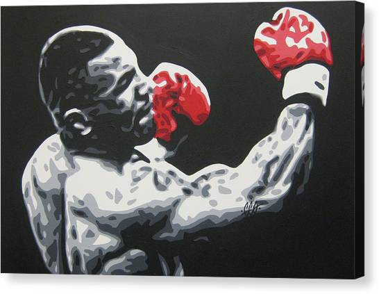 Mike Tyson Canvas Print - Mike Tyson 6 by Geo Thomson