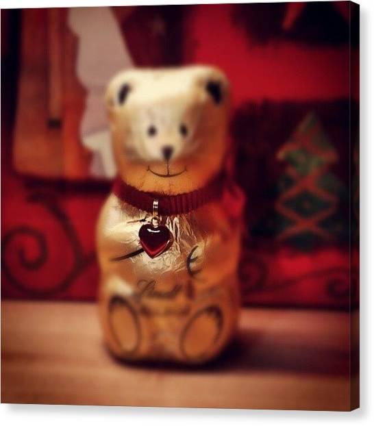 Teddy Bears Canvas Print - #mikulas Od Mojej Milej Polovicky :) by Mato Mato