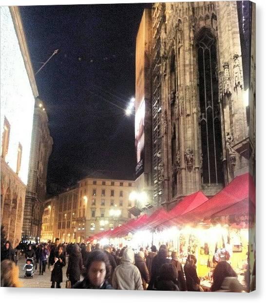 Europa Canvas Print - #milan #milano #italy #italia #market by Andrea Zampedroni