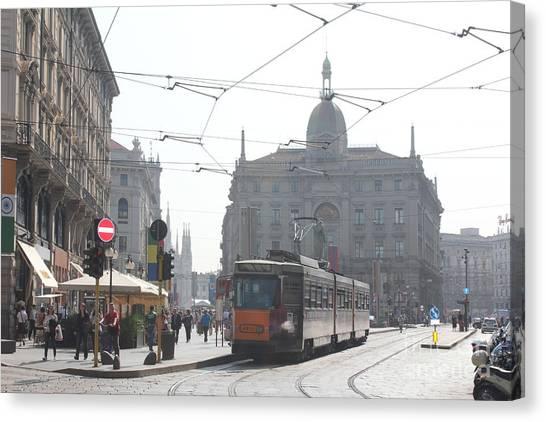 Milan Tram Canvas Print