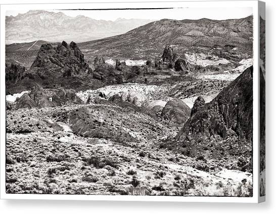 Miles Of Mountains Canvas Print by John Rizzuto
