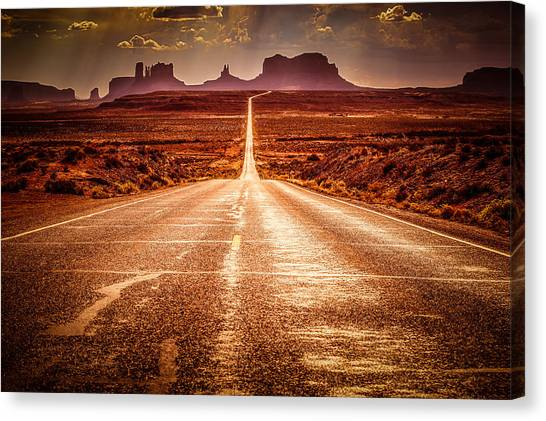 Johnny Depp Canvas Print - Miles To Go Special Request by Jennifer Grover