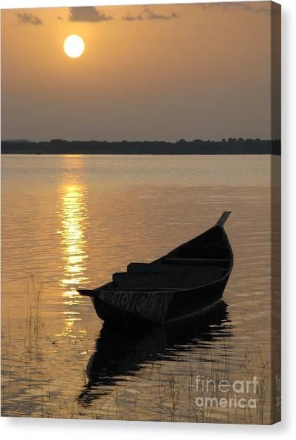 Milky Sunrise Canvas Print