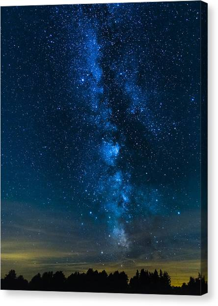 Milky Way Cherry Springs Canvas Print