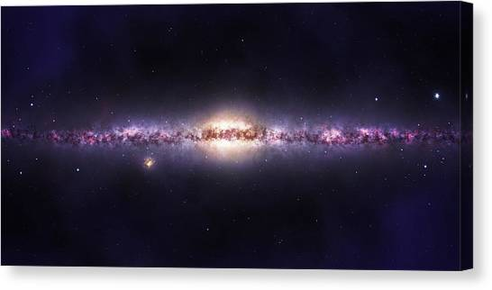 Milky Way Galaxy Canvas Print