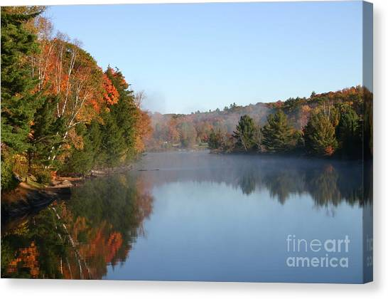 Mill Lake Thanksgiving Weekend II Canvas Print