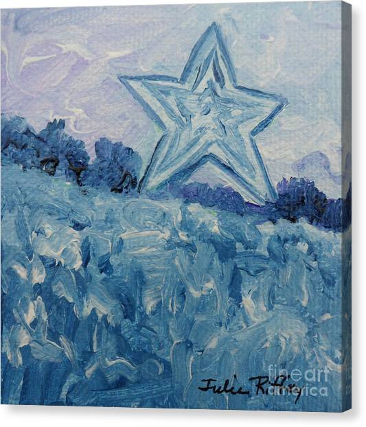 Mill Mountain Star Canvas Print
