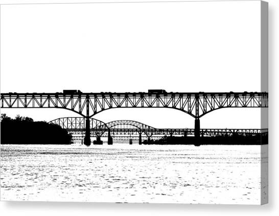 Millard Tydings Memorial Bridge Canvas Print