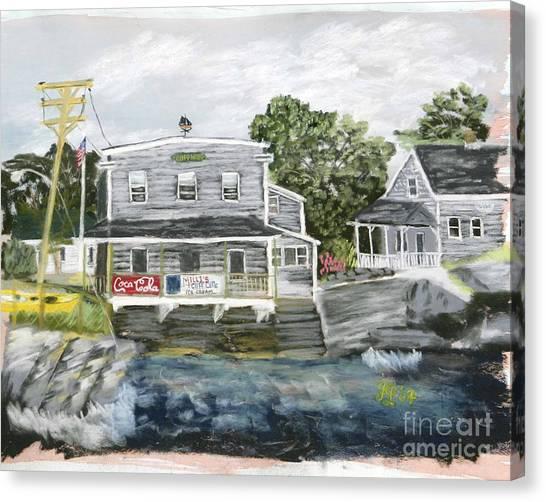 Millie's Cafe Canvas Print