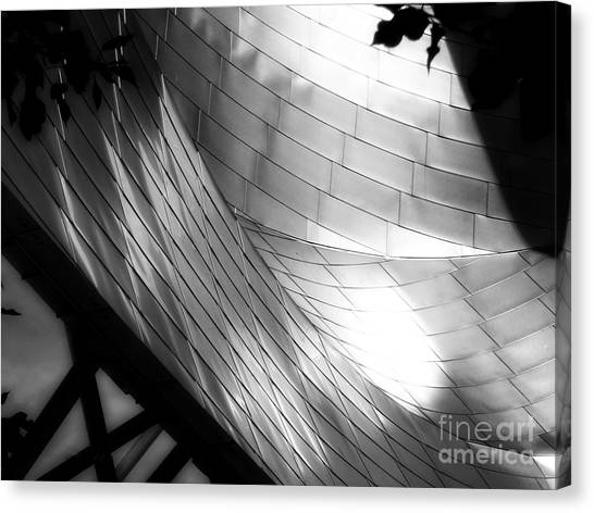 Millinuem Park Band Shell Canvas Print
