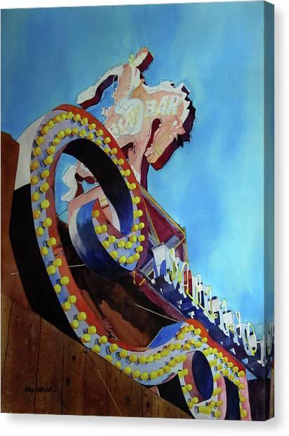 Wy Canvas Print - Million Dollar Cowboy by Kris Parins