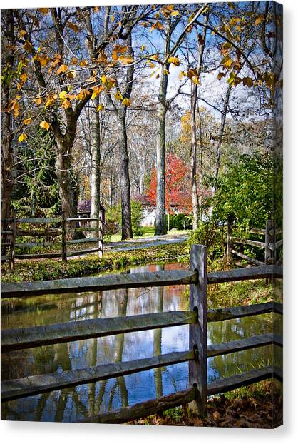 Millwood Canvas Print by Williams-Cairns Photography LLC