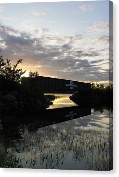 Milo Town Of Three Rivers Canvas Print