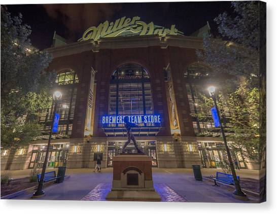 Milwaukee Brewers Miller Park 2 Canvas Print