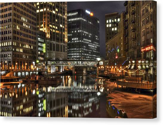 Milwaukee River Canvas Print
