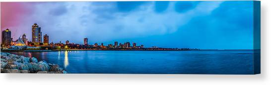 Milwaukee Skyline - Version 2 Canvas Print