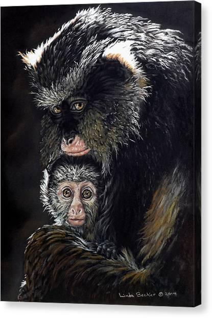 Mimi And Zuri Canvas Print