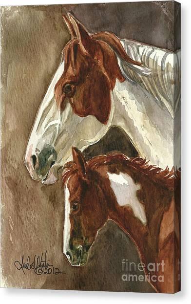 Mingo And Mimi Canvas Print