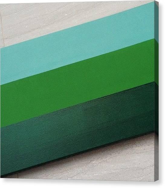 Mac Canvas Print - Minimal Stripes, Maximum Character by Ramen Mac