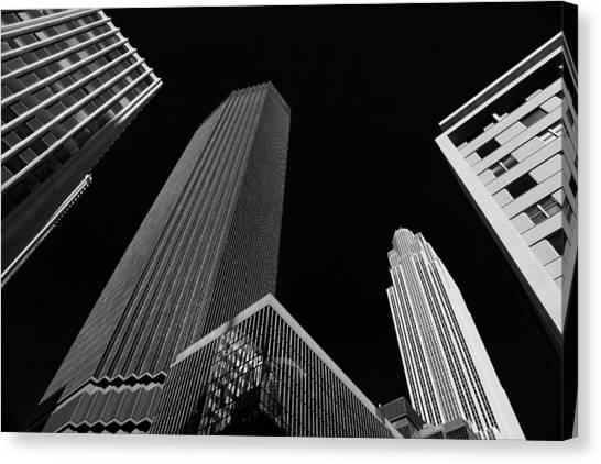 Minneapolis After Dark Canvas Print