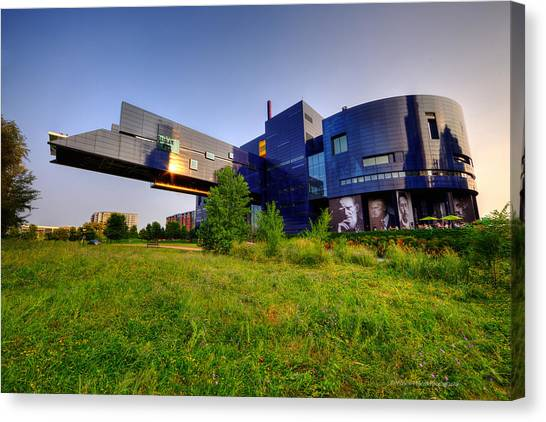 Minneapolis Guthrie Theater Summer Evening Canvas Print