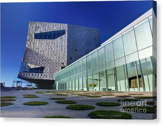 Minneapolis Skyline Photography Walker Art Museum Canvas Print