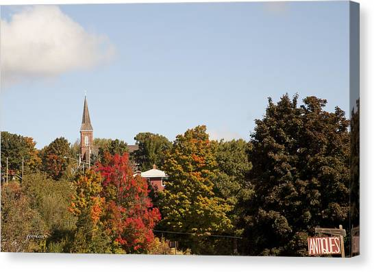 Minnesota In The Fall Canvas Print