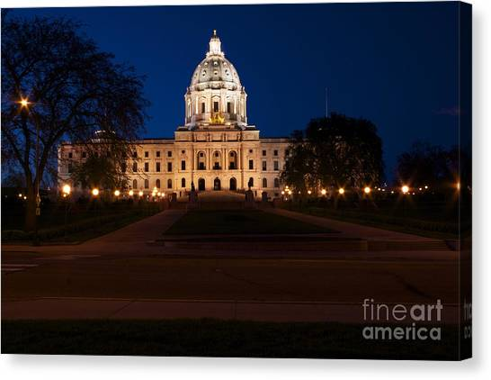 Minnesota State Capitol Canvas Print by Kevin Jack