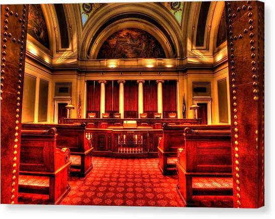 Minnesota Supreme Court Canvas Print