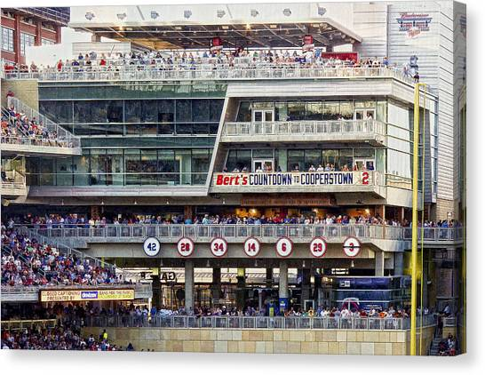 Minnesota's Bert's Countdown  To Cooperstown Canvas Print